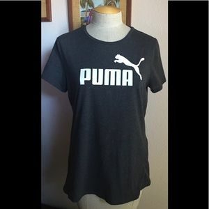 🤎😎PUMA T Shirts -1 Black and 1 Dk Grey